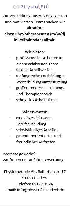 Praxis Fur Physiotherapie Und Physio Fit